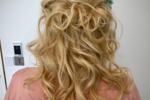 Caroline wedding hair trial